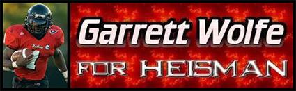 Garrett Wolfe for Heisman!!!